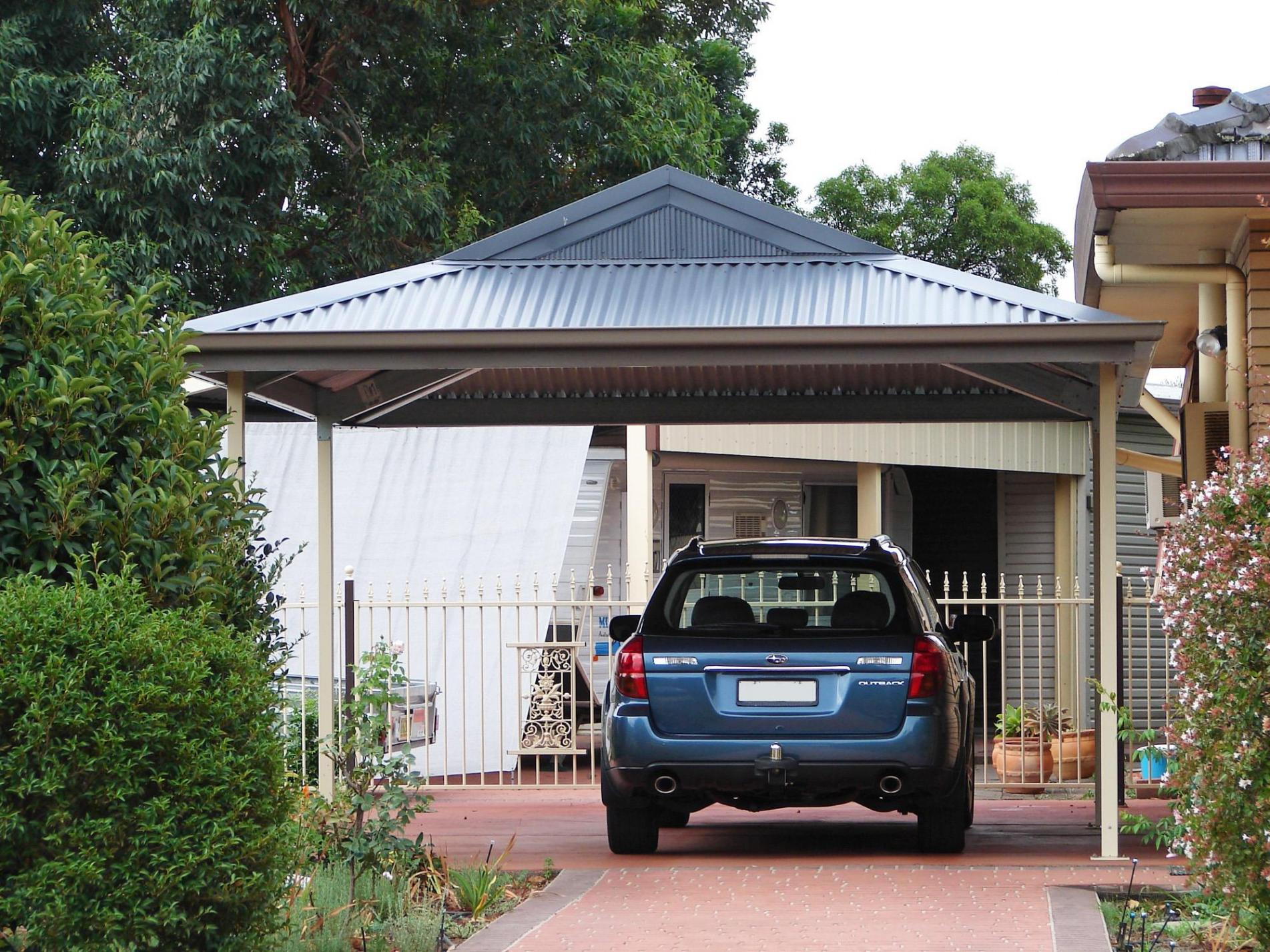 Cairns and fnq sheds cardinal metal roofing for Open carport plans